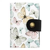 Визитница Нежные бабочки