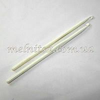 Крючок для вязания, 6 мм, пластмассовый