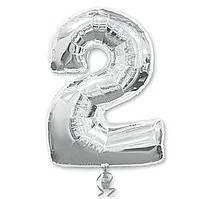 Гелієві цифри срібло