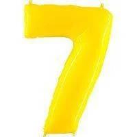 Гелієві цифри жовті
