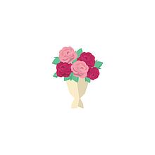 Букеты цветов и вкусняшек