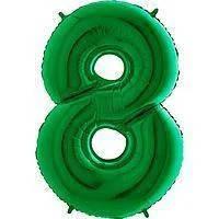 Гелієві цифри зелені