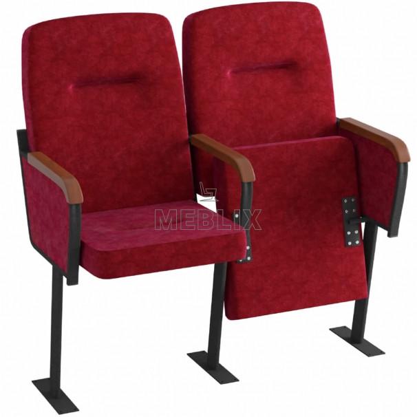 Театральне крісло для залу СТЮАРД з кріпленням до підлоги