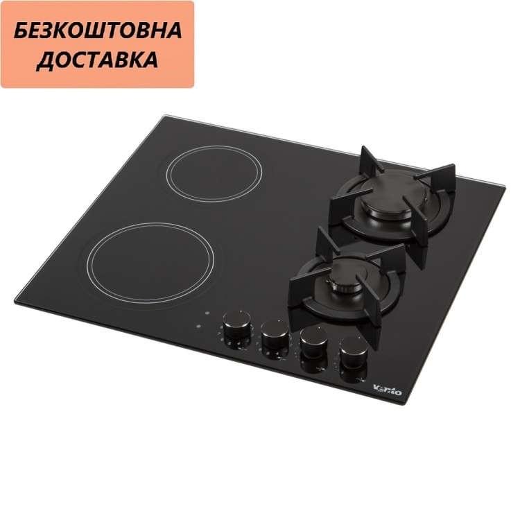 Варочная поверхность HG622 B9G RCS (BK) Комбинированная Черная