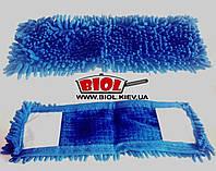 Запаска для швабры 40х13см полиэстер, макарон, синий Домiвка T-1053R