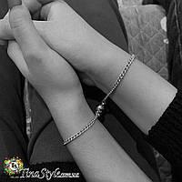 Парные браслеты на магнитах нерозлучники Браслет пара две половинки любовь браслеты для двоих влюбленных