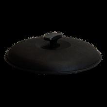 Чугунная крышка для казана диаметром 28 см.