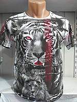 Мужская футболка с двухсторонним рисунком