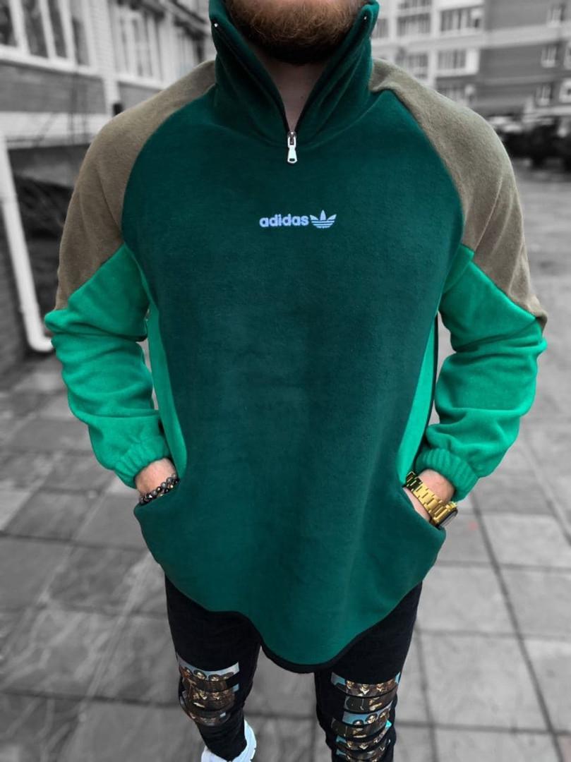 Чоловіча кофта Adidas зелена