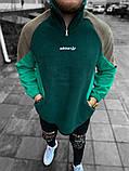 Чоловіча кофта Adidas зелена, фото 2