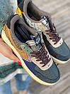 Кросівки жіночі Nike Air Force Travis Scott Cactus Jack, фото 3