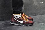 Мужские кроссовки Nike Zoom All Out (бордово-оранжевые), фото 4