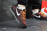 Мужские кроссовки Nike Zoom All Out (бордово-оранжевые), фото 5