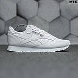Мужские кроссовки Reebok Classic (белые), фото 2