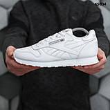 Мужские кроссовки Reebok Classic (белые), фото 4