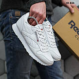 Мужские кроссовки Reebok Classic (белые), фото 5