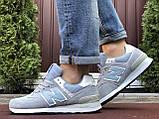 Мужские кроссовки Nеw Balance 574 голубые, фото 4