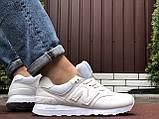 Чоловічі кросівки Nеw Balance 574 білі, фото 4