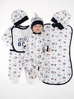 """Набор одежды 56 размера для новорожденного мальчика """"Sport"""""""