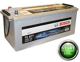 Аккумулятор BOSCH EFB 190Ah 1050A (TE 077) 0092TE0777