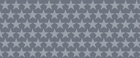 Бязь х/б для постільної білизни надрукована ЗІРКИ комп сірий