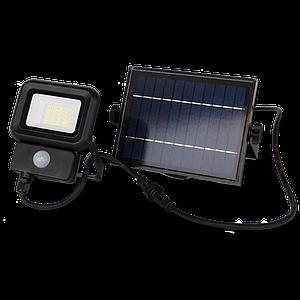 Автономны светодиодный прожектор с солнечной батареей 10W