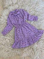 Детское платье для девочки 110, 116 см.