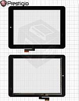 Touchscreen (сенсорный экран) для Prestigio MultiPad 2 Prime Duo 8.0 (PMP5780D), оригинал (черный)