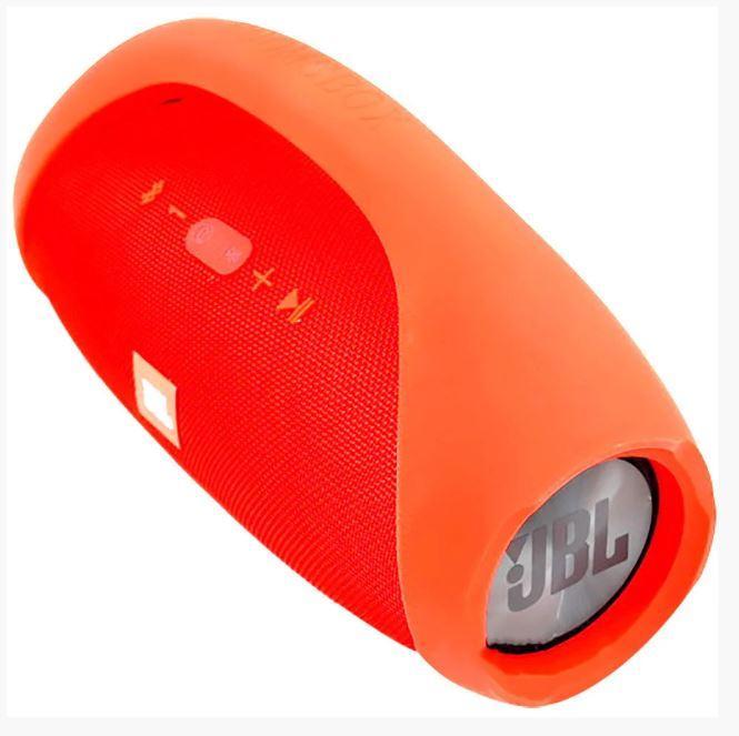 Переносная колонка JBL BoomBox красная 40W