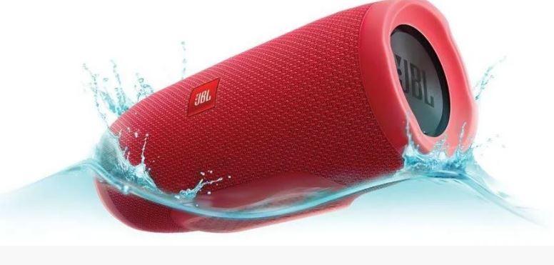 Колонка Блютуз JBL Charge 3mini+ красная