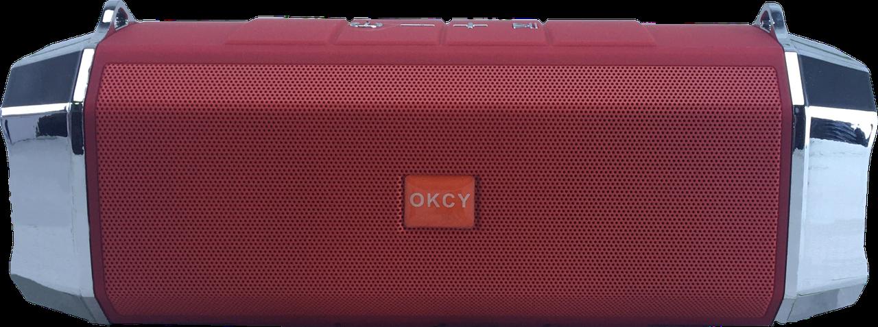 Компактная Блютуз колонка OKCY X12 Красный