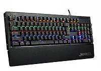 Клавиатура механическая LED подсветкой и подставкой Jedel KL90