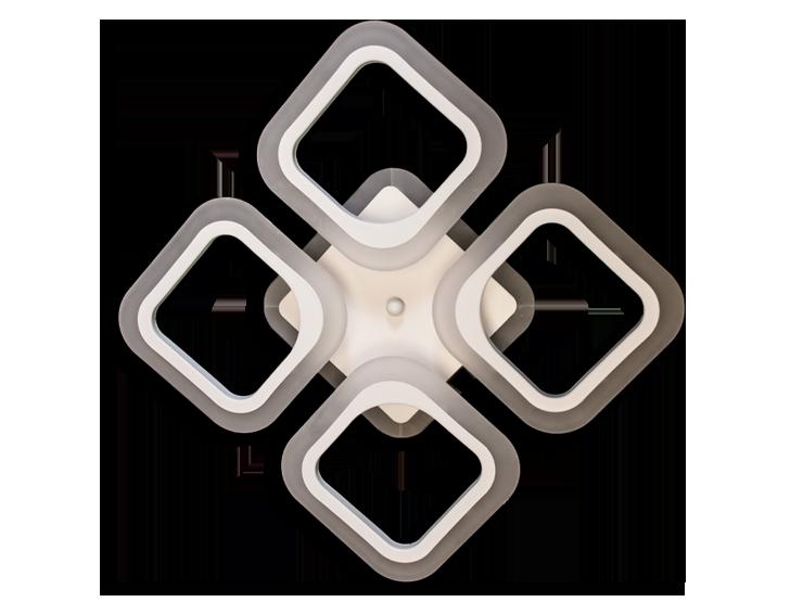 Люстра потолочная S8060/4CF LED 3color dimmer (Коричневый) 55W