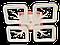 Люстра потолочная S8157/4BK LED 3color dimmer (Черный) 85W, фото 3