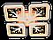 Люстра потолочная S8157/4GR LED 3color dimmer (Серый) 85W, фото 3