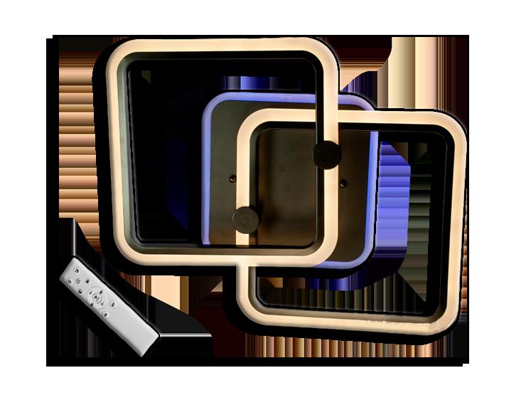 Люстра потолочная MX2503/2GR LED 3color dimmer (Серый) 55W