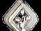 Светильник настенно-полотолчный 8157/1HR (Хром) 12W, фото 5