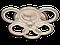 Світлодіодна люстра A3003/3+3BK LED 3color dimmer (Чорний) 65W, фото 3