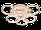 Люстра потолочная  A8022/3+3BK LED 3color dimmer (Черный) 85W, фото 3