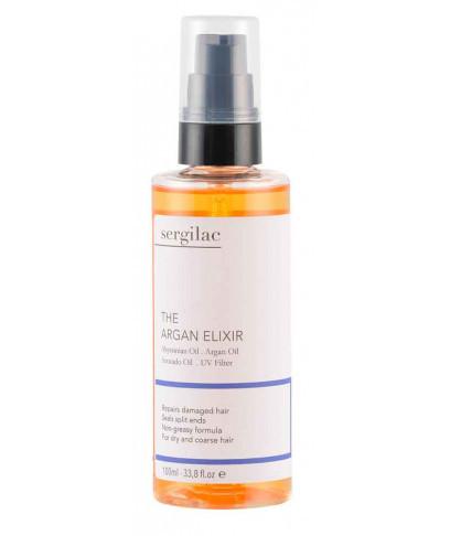 Еліксир з аргановою олією для волосся Sergilac 100мл