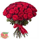 Красная роза Ред Наоми 40 - 100 см, фото 5