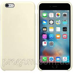 Чохол Silicone Case для iPhone 6 plus, iPhone 6S Plus OR Antique White