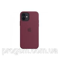 Чохол Sillicon Case для iPhone 12 Mini Plum