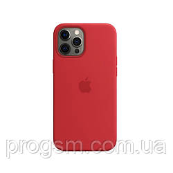 Чохол Sillicon Case для iPhone 12 Pro Max Red