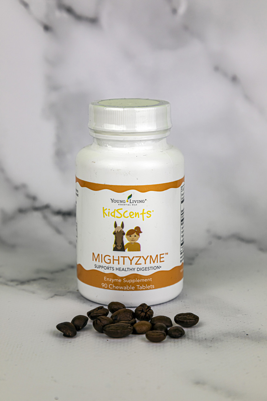 Пищевая добавка жевательная для детей KidScents MightyZymeYoung Living 90шт