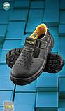 Спец взуття сандалі шкіряні з під посиленим носком, фото 2