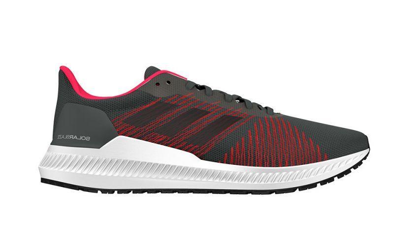 Кроссовки мужские Adidas Solar Blaze серые (G27776)