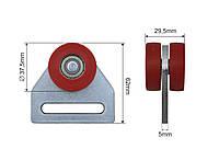 Ролик тента (боковой шторы) 37,5х29,5х62 мм
