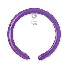 Латексні кульки для моделювання (ШДМ) фіолетовий 260/008 Gemar