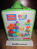 Конструктор Мега блокс  20 деталей животные Mega Bloks First Builders Animal Adventures Playset, фото 1